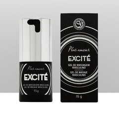 Gel Eletrizante Retardante Masculino Excité - LUXO - Secret PlayRef. 3118