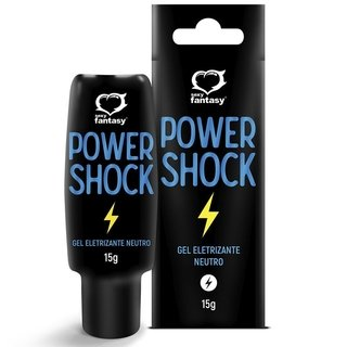 POWER SHOCK 15G - Gel Eletrizante Neutro - Sexy Fantasy 6419