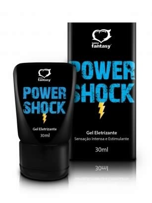 Power Shock Gel Eletrizante 30 ml - Sexy Fantasy