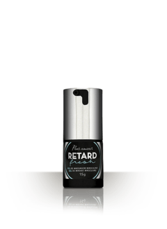 Gel Excitante e Retardante Luxo - Secret Play