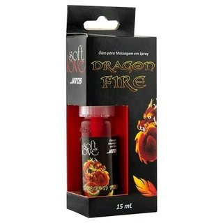 Spray DRAGON FIRE JATOS Esquenta E Excita 15ML SOFT LOVE