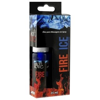 Spray FIRE ICE JATOS Esquenta Esfria 15ML SOFT LOVE