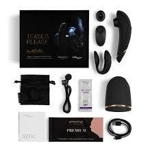 Vibrador Womanizer + We Vibe Sync TEASE & PLEASE