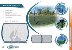 Backstop Beisbol y Softbol Portable - Sportable