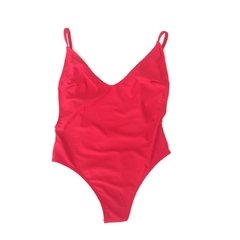 ONE PIECE COLALESS RED - comprar online
