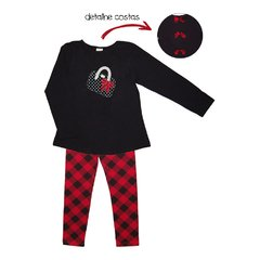 CONJUNTO C/ LEGGING COTTON 4/14 - 20577/20578 - HAVE FUN