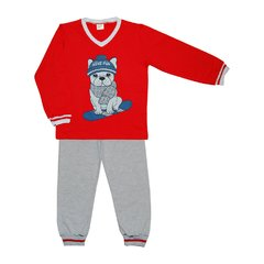 PIJAMA CACHORRO NO SKATE 4/8 - 20822- HAVE FUN