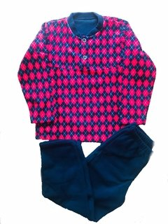 PIJAMA SOFT MARINHO 4/8 - 20807 - HAVE FUN