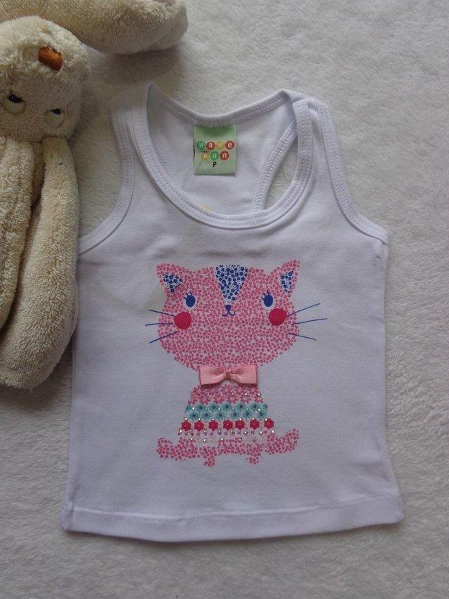 Comprar Camiseta Regata Bebê menina em Papaya Kids  Branco ... 491f2f651c1