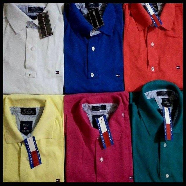 Kit de Camisas Gola Polo Masculinas - Marcas Famosas 25e10b63daa91