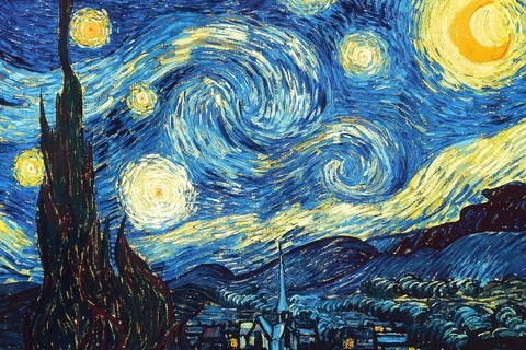 Quadro Starry Night