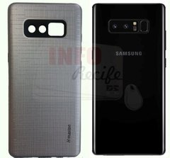 Capa Anti Impacto Galaxy Note 8 Prata na internet