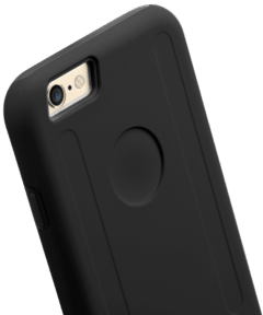 Capa Double Layer PRO Preto iPhone PLUS 6 6S - loja online