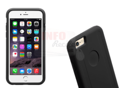 Capa Double Layer PRO Preto iPhone PLUS 6 6S na internet