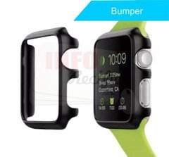 Protetor Bumper de Metal Preto Apple Watch 42mm 1, 2 e 3