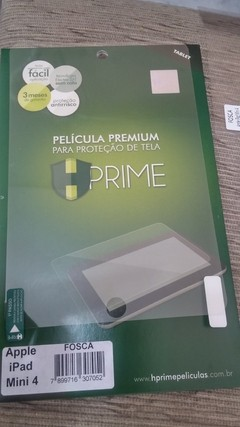Película HPrime PET FOSCA Apple iPad Mini 4 - 705 - Info Recife PE