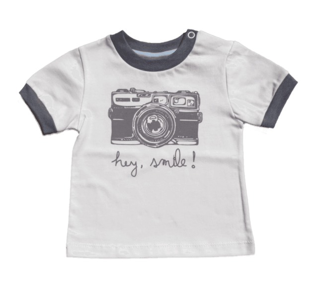 Remera Smile en internet