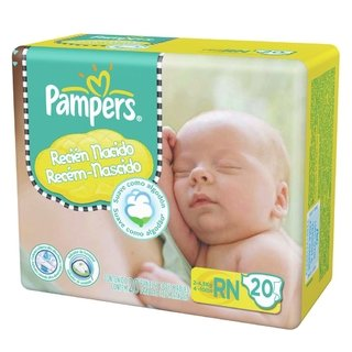 Pampers Pañal Confortsec RN 20