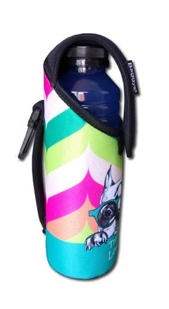 PORTABOTELLAS TÉRMICO DE NEOPRENE + BOTELLA DE 500ml