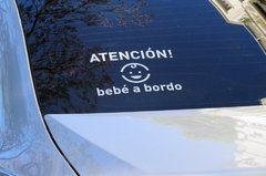 "Sticker Calco Vinilo ""Bebé a Bordo"" en internet"