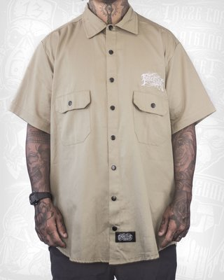Camisa Work Shirt Treze Core - Bege