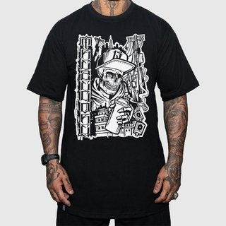 Camiseta Graffiti Skull