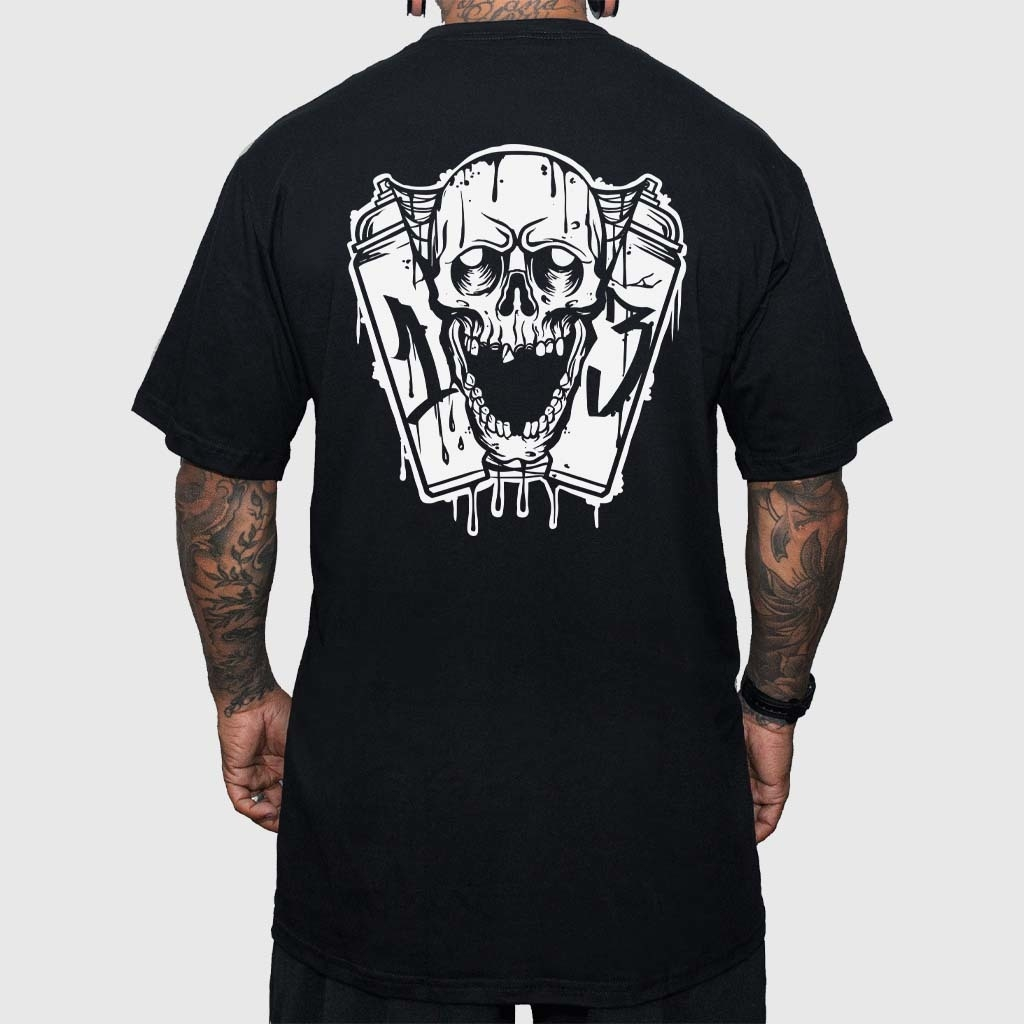 Camiseta Spray Skull