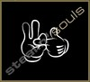 Stickers / Decals - Mickey Mouse Hands - 001