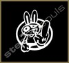 Stickers / Decals - Domo Kun / Pig / Panda - 008