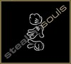 Stickers / Decals - Mickey Mouse Hands - 020