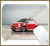 Mouse Pad Rectangular Fiat - 001