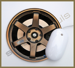 Mouse Pad Circular Wheels Marks - 097 en internet