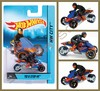 Hot Wheels - Motorcycle With Rider - Tri & Stop Me
