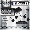 Sensor De Estacionamiento | Negro | X4 | Con Display