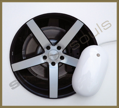 Mouse Pad Circular Wheels Marks - 103 - comprar online