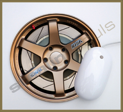 Mouse Pad Circular Wheels Marks - 098 en internet