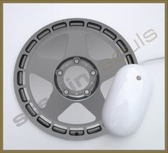 Mouse Pad Circular Wheels Marks - 056 - comprar online