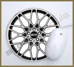 Mouse Pad Circular Wheels Marks - 012 - comprar online