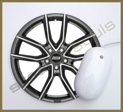 Mouse Pad Circular Wheels Marks - 004 - comprar online