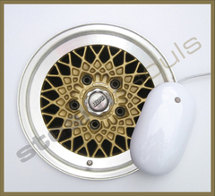 Mouse Pad Circular Wheels Marks - 027 - comprar online