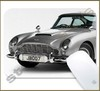 Mouse Pad Rectangular Famous Movies / Series Cars - 003