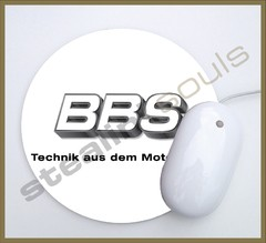Mouse Pad Circular Wheels Marks - 005