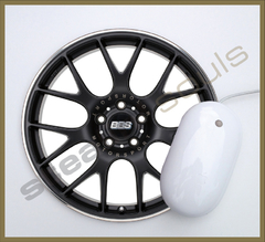 Mouse Pad Circular Wheels Marks - 040 - comprar online