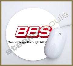 Mouse Pad Circular Wheels Marks - 045