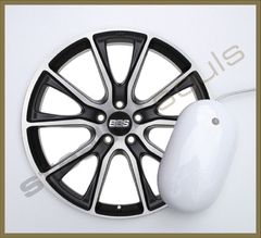 Mouse Pad Circular Wheels Marks - 007 - comprar online
