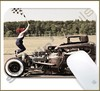 Mouse Pad Rectangular Hot Rod - 004