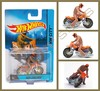 Hot Wheels - Motorcycle With Rider - Tred Shredder