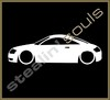 Stickers / Decals - Car Lowered Silhouette - 005
