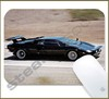 Mouse Pad Rectangular Famous Movies / Series Cars - 006