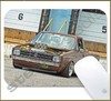 Mouse Pad Rectangular Euro Style - 006